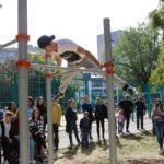 5-я воркаут-площадка открылась в Армавире