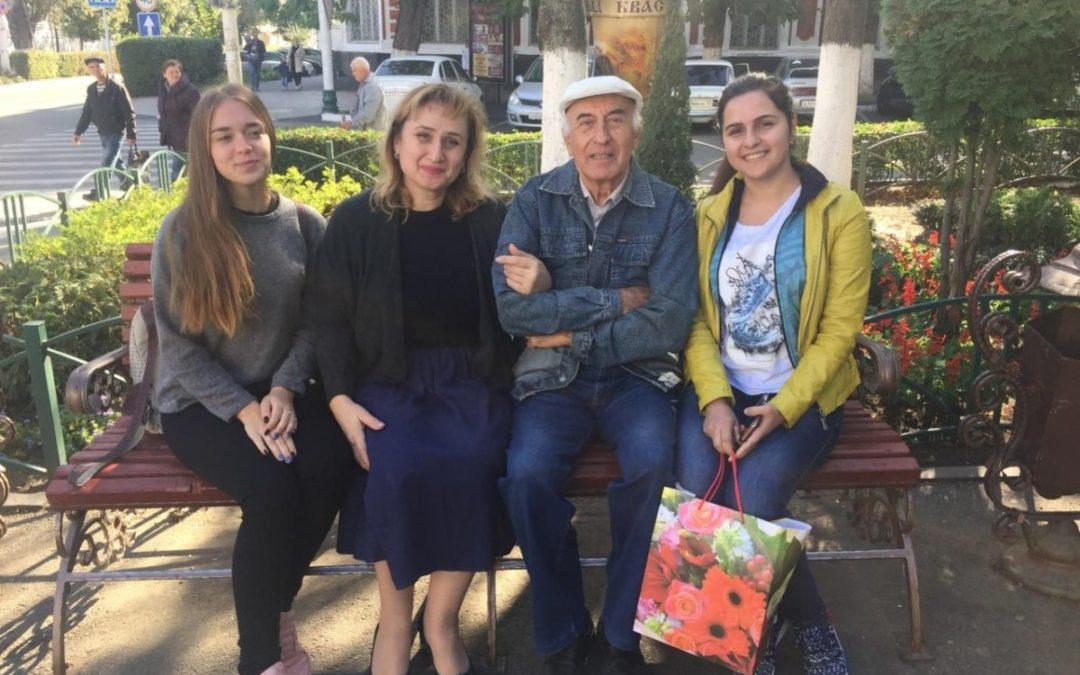 Студенты встретились с ветераном вуза