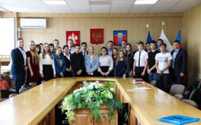 Армавирская молодёжь на личной встрече с депутатом