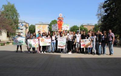 В Армавире прошёл конкурс рисунков «Победный май!»