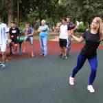 Фитнес на площадке