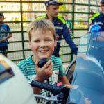 Полицейские на мотоциклах
