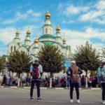 Армавирская молодёжь встретила Патриарха Кирилла