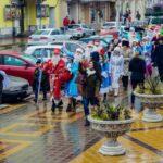 Шествие Дедов Морозов прошло в Армавире