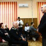 Концерт, посвященный Дню защитника Отечества прошел в городском Совете ветеранов