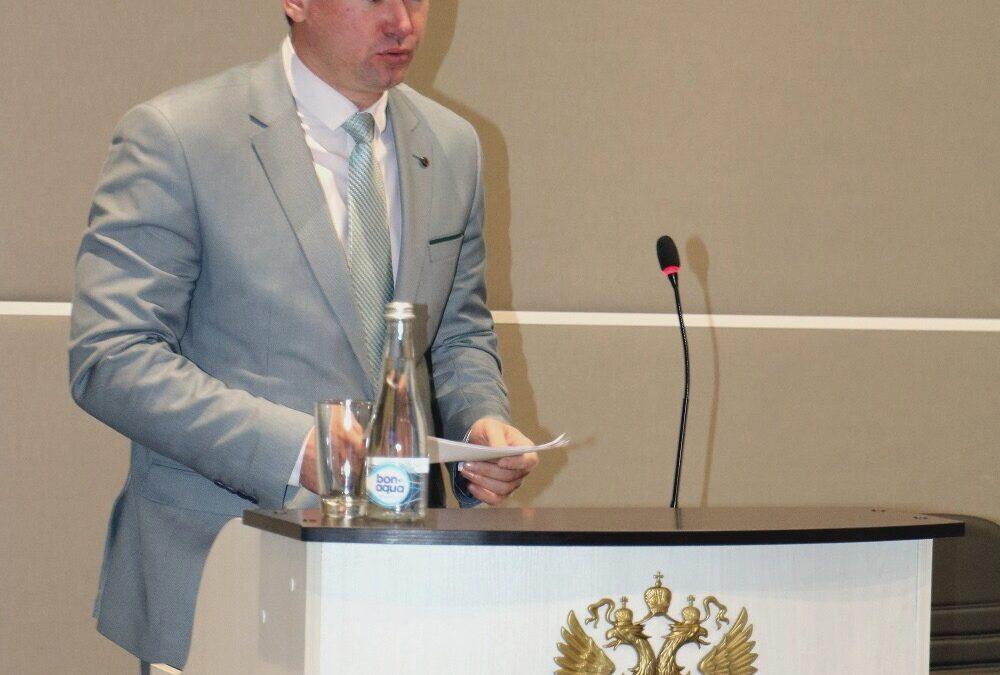 Начальника ОДМа В.Н. Зинченко награждили по итогам работы за 2018 год