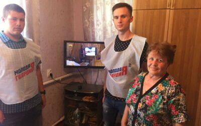 Волонтёры цифрового ТВ продолжают работу!