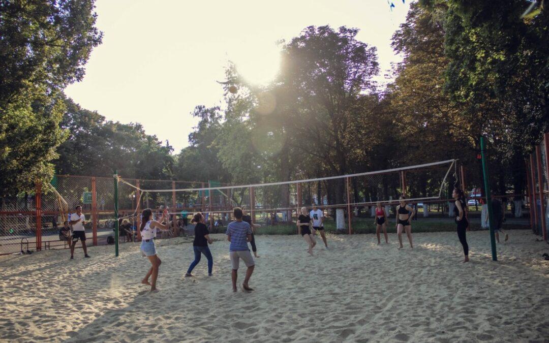 Турнир по волейболу среди дворовых команд
