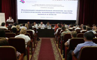 Обсудили национальные проекты