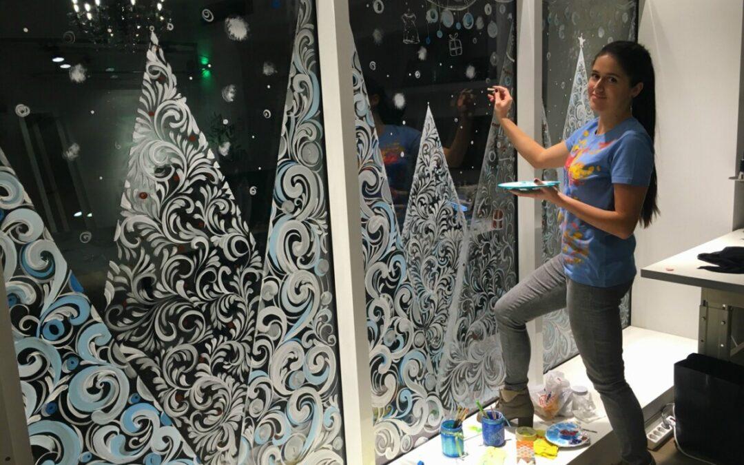Акция «Новогодние окна»