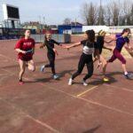 Соревнования по лёгкой атлетике в рамках студенческой спартакиады