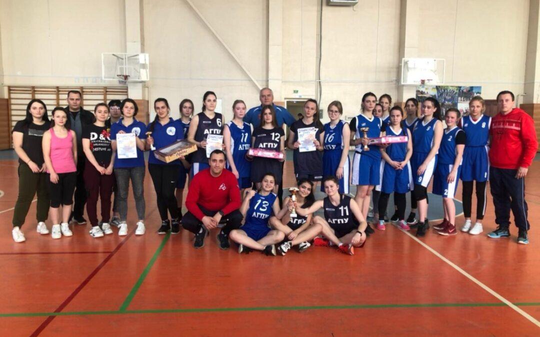 Спартакиада: баскетбол